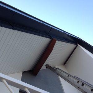 Dessous de toit PVC APRES travaux