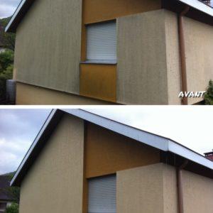 Rénovation traitement Hydrofuge incolore façade - Kayller Toiture