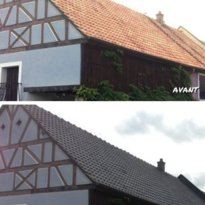 Traitement Hydrofuge coloré tuiles en terre cuite - Kayller toiture
