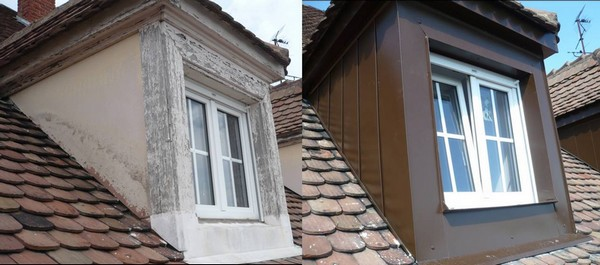 Pose de lucarne de toit en Alsace par Kayller Toiture