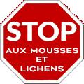 Logo stop aux mousses et lichens